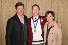 2017 AO Finalist Milan Smedley with parents Charl and Olivia IMG_4725
