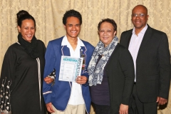 2017 AO Finalist Sean Petersen with sister Rene and parent Denise and Frank IMG_4734