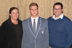 2017 AO Finalist Warwick Griffin with parents Julie-Ann and Shaun IMG_4718