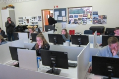 2017 AO Finalists at work - Bergvliet High lab