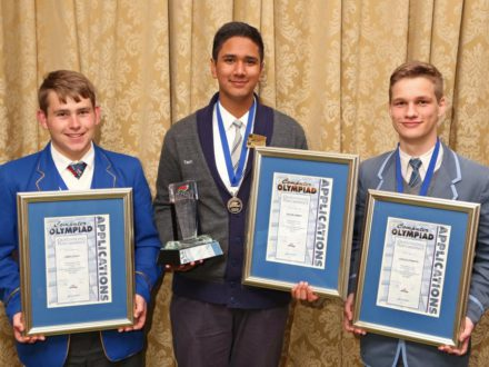 2016 AO Winner Silver Medal James Selby, Gold Medal Tauhir Ahmed & Silver Medal Joshua Stander MG_9744