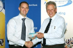 Brendon Wilson - Standard Bank, and Peter Waker - Computer Olympiad Manager
