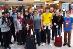 2018 IOI team back @CPT with parents Taariq Emile Ralph Tian & Ldrs Robin Visser, Laurens Weyn