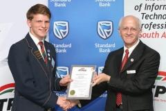 2018 PO Finalist Retief Louw receiving awards from Tony Parry IMG_0886