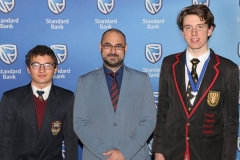 2018 PO Finalists Lukas Nel, Louis van der Merwe (teacher Paul Roos Gymnasium) & Tian Cilliers (Stellenbosch High) IMG_0998