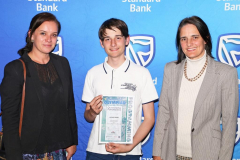 2019 PO Finalist Jacques Amsel with Deutsch Schule CT principal Silke Werth and mom Jeanine IMG_4431