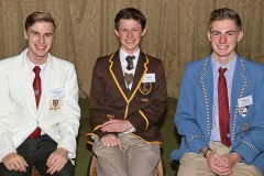 2017 PO Finalists Christopher du Plessis (St Stithians College), Donal Davies (Woodridge College), Jesse Bristow (Maragon School) IMG_6258
