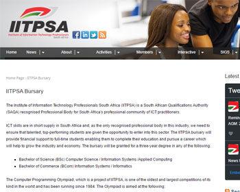 IITPSA-Bursary—IITPSA